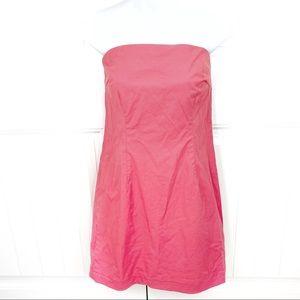 Vintage J. Crew Cotton Casual Tube Strapless Dress
